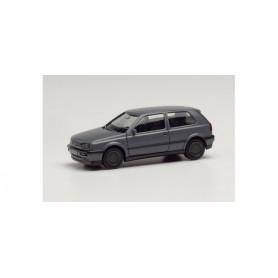 Herpa 024075-002 VW Golf III VR6 nardo grey, rims grey