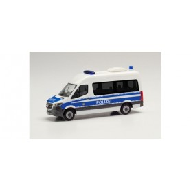 Herpa 096393 Mercedes-Benz Sprinter '18 box high roof 'Mobile police office vehicle Berlin'
