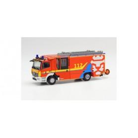 Herpa 096423 Mercedes-Benz Atego '13 Ziegler Z-Cab 'Luxembourg fire department'