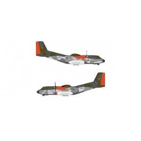 "Herpa Wings 571562 Flygplan Luftwaffe Transall C-160 - LTG 63 | Air Transport Wing, Hohn Air Base ""Retro Brummel"""