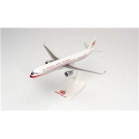 Herpa Wings 613316 Flygplan TAP Air Portugal Airbus A321neo - Retro 75th anniversary colors – CS-TJR