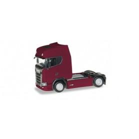 Herpa 306768-003 Scania CS 20 HD rigid tractor, ruby red