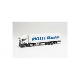 """Herpa 313544 MAN TGX GM box semitrailer """"Willi Betz"""""""