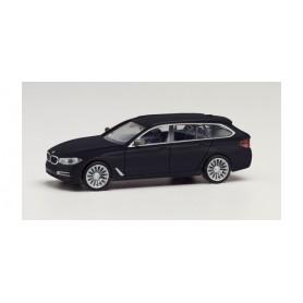 Herpa 430708-003 BMW 5er Touring, black metallic
