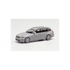 Herpa 430821-002 BMW 3er Touring, silver metallic
