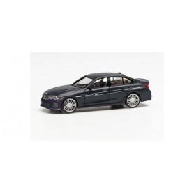 Herpa 430890 BMW Alpina B3 Sedan, Black Sapphire Metallic