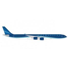 "Herpa Wings 535762 Flygplan Azerbaijan Airlines Airbus A340-600 – 4K-AI08 ""Baku-8"""