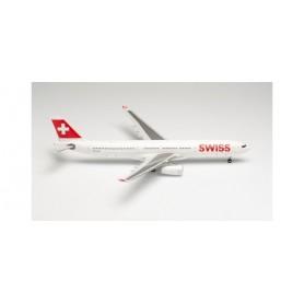 """Herpa Wings 571685 Flygplan Swiss International Air Lines Airbus A330-300 – HB-JHF """"Bern"""""""