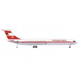 Herpa Wings 571708 Flygplan Interflug Ilyushin IL-62M – DM-SEL