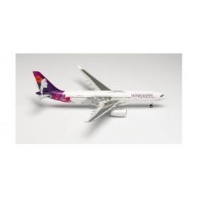 "Herpa Wings 571753 Flygplan Hawaiian Airlines Airbus A330-200 – N389HA ""Keali'iokonaikalewa"""