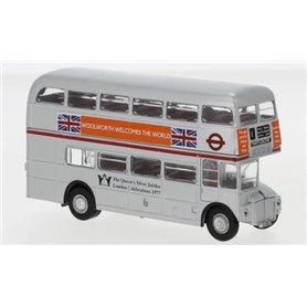 Brekina 61105 Buss AEC Routemaster, Silver Jubilee, 1977