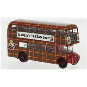 Brekina 61107 Buss AEC Routemaster, Younger´s Tartan beer, 1960