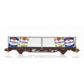 NMJ 507123 Containervagn CargoNet Lgns 42 76 443 2209-6, Munkholm