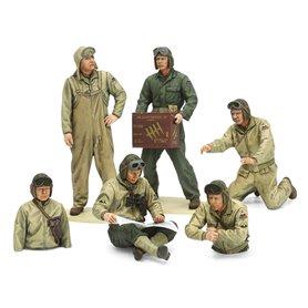 Tamiya 35347 Figurer U.S. Tank Crew Set (European Theater)