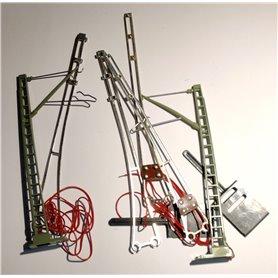 Märklin 7505 Luftledningssats för signaler i 7200-serien, 1 set
