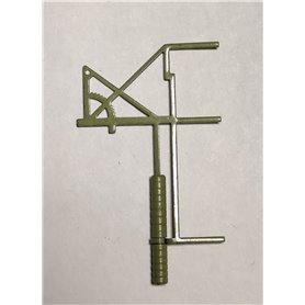 Märklin 409SP Luftledningsspännare, grön, 1 st