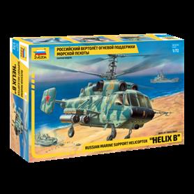 "Zvezda 7221 Helikopter Russian marine support helicopter ""Helix B"""