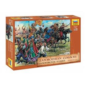 Zvezda 8064 Figurer Zaporozhian Cossacks XVI-XVIII A.D