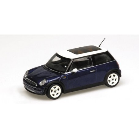 Minichamps 431138100 Mini Cooper 2001 Blå