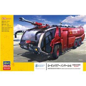 "Hasegawa 52268 ROSENBAUER PANTHER 6×6 AIRPORT CRASH TENDER ""JAPAN CIVIL AVIATION BUREAU"""