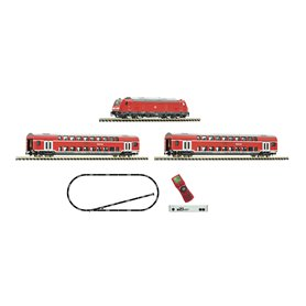 Fleischmann 931897 z21 start digital set: Diesel locomotive class 245 and passenger train, DB AG
