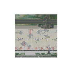 Herpa Wings 530255 Airport Floor Plates - Set 1: Passenger terminal