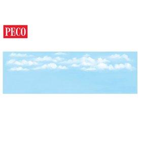 Peco SK-19 Bakgrundskuliss, stor, himmel, 1 st