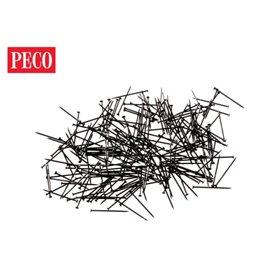 Peco SL-14 Rälsspik passande för peco räls, längd 14 mm, 500 per/fp