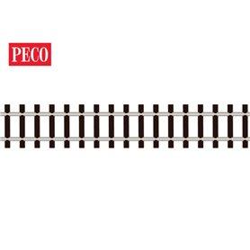 Peco SL-300F Flexräls, träslipers, längd 914 mm