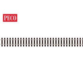 Peco SL-1400 Flexräls H0m, smalspår 1200, code 75, träslipers