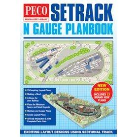 Peco IN-1 Spårplansbok för Peco N-skala