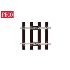 Peco SL-713 Transition Tracks, övergångsskenaPeco 0, längd 67 mm