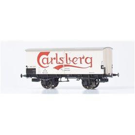 "Dekas DK-872143 Godsvagn DSB ZA 99 519, red logo ""Carlsberg"", approx 1944-57"