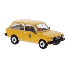 Brekina 27631 Volvo 66, Posten, 1975, gul, TD
