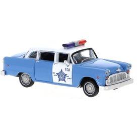 Brekina 58939 Checker Cab, Chicago Police Department, Police Car, 1974