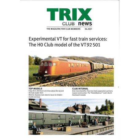 Trix CLUB042021 Trix Club 04/2021, magasin från Trix, 23 sidor i färg, Engelska