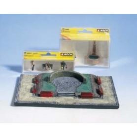 """Noch 65502 Diorama-set """"Parken"""", innehåller färdig grundplatta + figurer, bänkar m.m."""