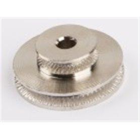 Wilesco 1636 Grooved pulley, twin (M55, M56, D12, D14, D141, D16, D18, D20, D22, D24, D455)