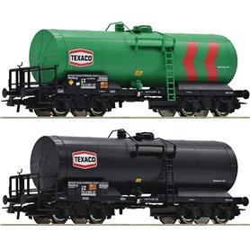 """Roco 76013 Vagnsset med 2 tankvagnar DB """"Texaco"""""""
