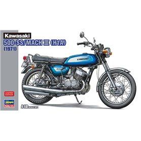 Hasegawa 21735 Motorcykel Kawasaki 500-SS/MACH III (H1A)