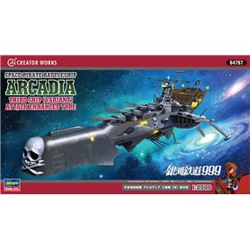 Hasegawa 64787 Space Pirate Battleship Arcadia Third Ship Vriant Attack Enhanced Type