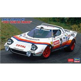 "Hasegawa 20499 Lancia Stratos HF ""1981 Tour De France"""