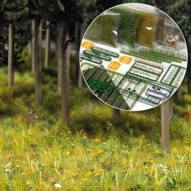 """Busch 6043 Startset för landskap """"Forest & Meadow"""""""
