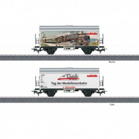 Märklin 44221 Godsvagn International Model Railroading Day on December 2, 2021