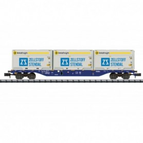 Trix 18420 Type Sgnss Container Transport Car
