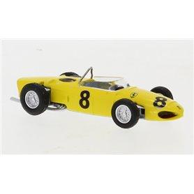 Brekina 22992 Ferrari F 156, gelb, No.8, Formel 1, 1961, O. Gendebien