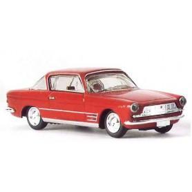 "Brekina 22250 Fiat 2300 S Coupe ""Drummer"", röd"