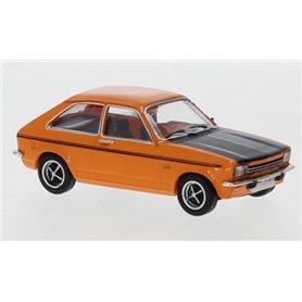 Brekina 870242 Opel Kadett C City, orange/mattsvart, 1975, PCX