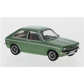 Brekina 870243 Opel Kadett C City, metallic-grön, 1975, PCX