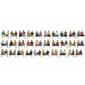 Noch 16072 Mega Economy Figures Set 'Sitting People', 60 st